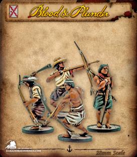 Blood & Plunder: Spain - Milicianos Indios Unit