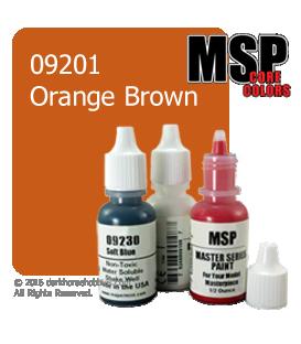 Master Series Paint: Core Colors - 09201 Orange Brown (1/2 oz)