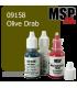Master Series Paint: Core Colors - 09158 Olive Drab (1/2 oz)