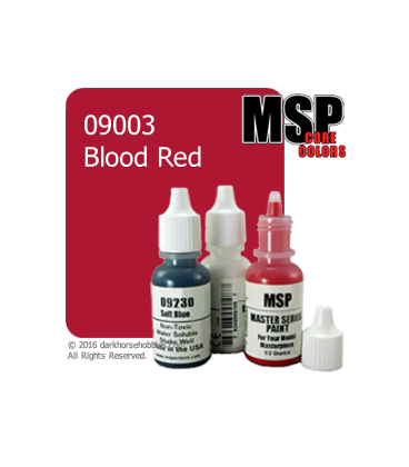 Master Series Paint: Core Colors - 09003 Blood Red (1/2 oz)