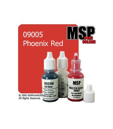 Master Series Paint: Core Colors - 09005 Phoenix Red (1/2 oz)