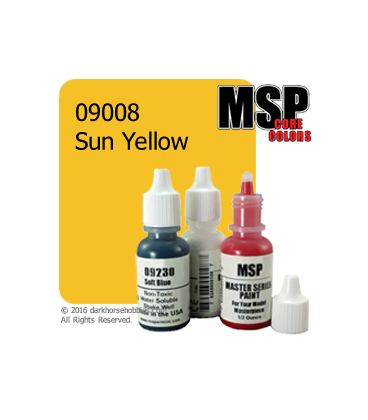 Master Series Paint: Core Colors - 09008 Sun Yellow (1/2 oz)