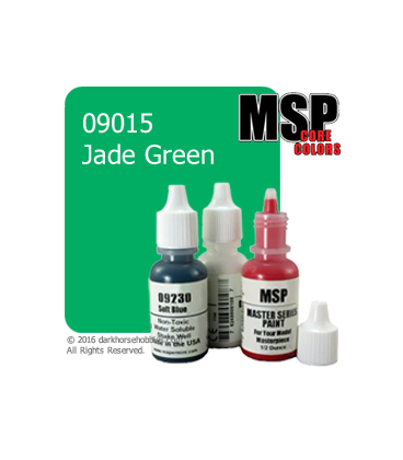Master Series Paint: Core Colors - 09015 Jade Green (1/2 oz)