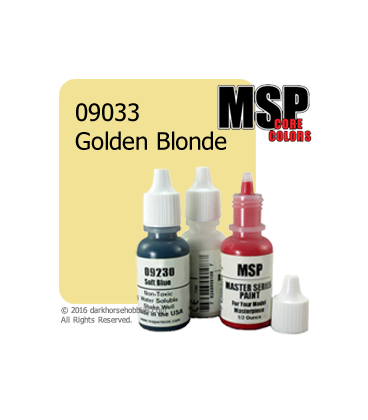 Master Series Paint: Core Colors - 09033 Golden Blonde (1/2 oz)