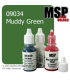 Master Series Paint: Core Colors - 09034 Muddy Green (1/2 oz)