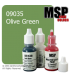 Master Series Paint: Core Colors - 09035 Olive Green (1/2 oz)