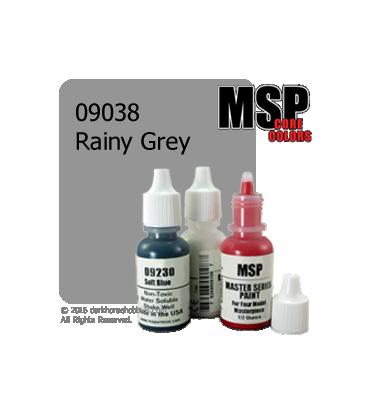 Master Series Paint: Core Colors - 09038 Rainy Grey (1/2 oz)