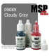 Master Series Paint: Core Colors - 09089 Cloudy Grey (1/2 oz)