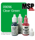 Master Series Paint: Core Colors - 09096 Clear Green (1/2 oz)