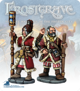 Frostgrave: Wizards - Chronomancer & Apprentice
