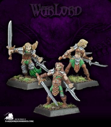 Warlord: Elves - Deathseekers, Elven Adept Box Set (painted by John Bonnet)