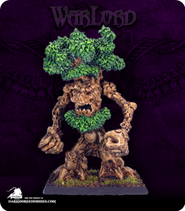 Warlord: Elves - Mossbeard, Tree Ent (painted by John Bonnot)