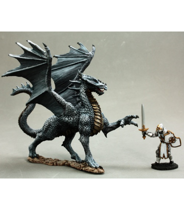Dark Heaven Legends: Silver Dragon (painted by Martin Jones)