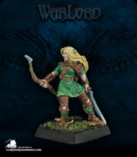 Warlord: Elves - Selwyn, Elven Captain (painted by John Bonnot)