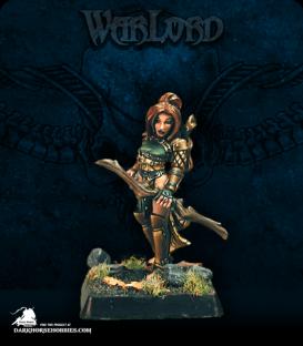 Warlord: Elves - Caerwynn, Elven Hero (painted by Marike Reimer)