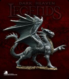 Dark Heaven Legends: Silver Dragon (painted by Martin Jones)