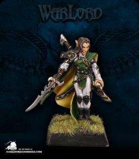 Warlord: Elves - Ardynn, Elven Hero (painted by Tim Lison)