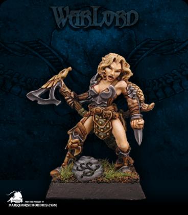 Warlord: Elves - Arnise, Elven Deathseeker Sergeant (painted by Anne Foerster)