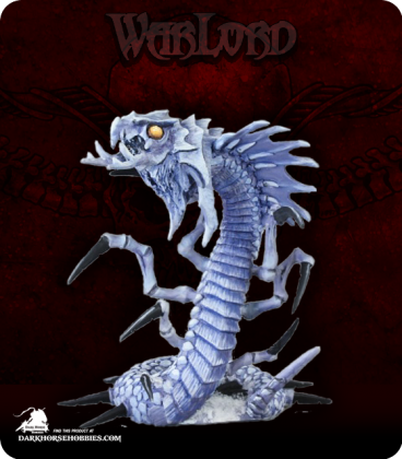 Warlord: Icingstead - Frost Wyrm (painted by Shannon Stiltz)