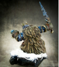 Warlord: Icingstead - Boerogg Blackrime, Frost Giant (painted by Michael Proctor)