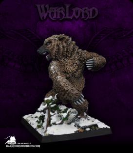 Warlord: Dwarves/Kragmarr - Dire Bear (painted by Angela Imrie)