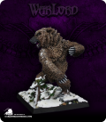 Warlord: Dwarves/Kragmarr - Dire Bear (painted by Angela Imrie)