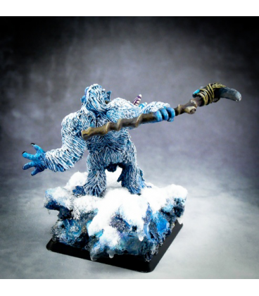 Warlord: Icingstead - Yeti Shaman (painted by Michael Proctor)