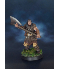 Warlord: Icingstead - Barbarian Axeman (painted by S. McCafferty)