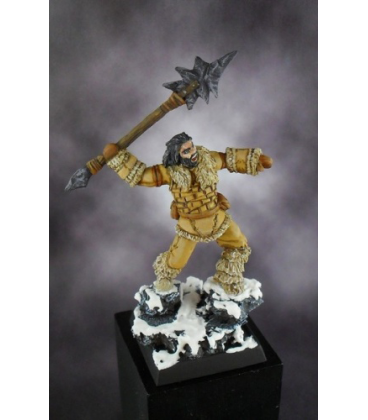 Warlord: Icingstead - Barbarian Spear Thrower (painted by Jim Cook Jr)