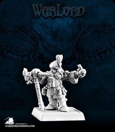 Warlord: Dwarves - Abjorn Hofkeg, Dwarven Miner Sergeant