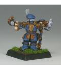 Warlord: Dwarves - Abjorn Hofkeg, Dwarven Miner Sergeant (painted by Anne Foerster)