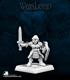 Warlord: Dwarves - Dwarven Shieldmaiden Adept