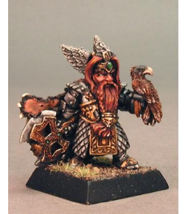 Warlord: Dwarves - King Thorgram Grimsteel, Warlord (painted by Kelly Rowe)