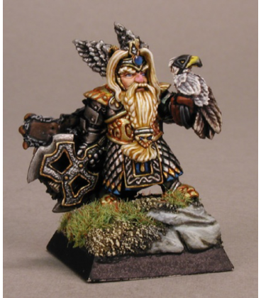 Warlord: Dwarves - King Thorgram Grimsteel, Warlord (painted by Tim Lison)