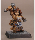 Warlord: Dwarves - Margara Firetongue, Mage (painted by Anne Foerster)