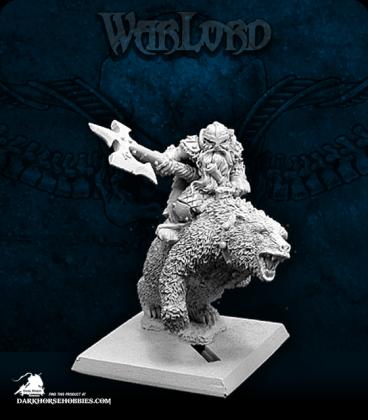 Warlord: Dwarves - Thorvald, Dwarven Bear Rider