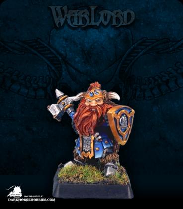 Warlord: Dwarves - Fulumbar Ironhammer, Captain (painted by John Bonnot)