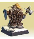 Warlord: Dwarves - Fulumbar Ironhammer, Captain (painted by Sean Fulton)