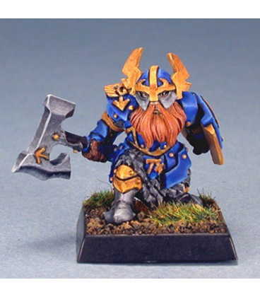 Warlord: Dwarves - Gargram Heavyhand, Sergeant (painted by Anne Foerster)