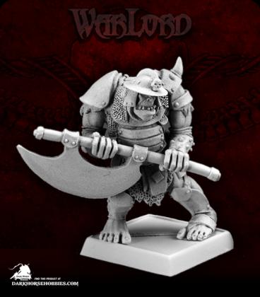Warlord: Kargir - Gologh the Vicious, Black Orc Captain