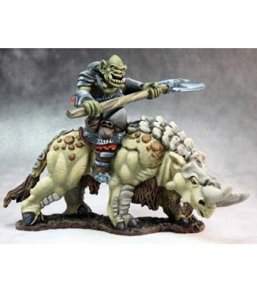 Warlord: Kargir - Tundra Beast Rider (painted by Martin Jones)
