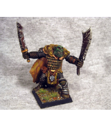 Warlord: Kargir - Torg, Orc Tundra Stalker Sgt (painted by Blue Moon Miniatures)