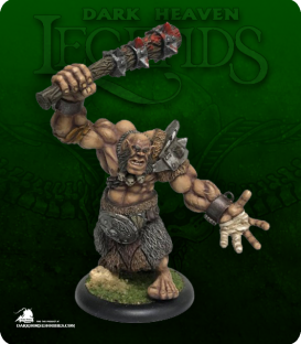 Dark Heaven Legends: Krug, Hill Giant Chieftain (painted by Horus25)