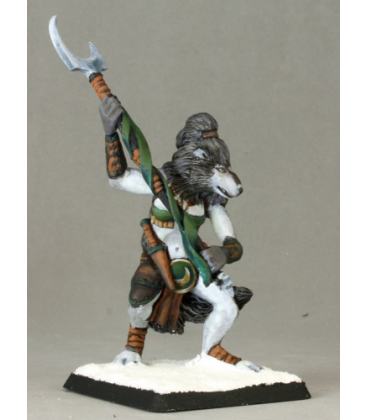 Warlord: Korborlas - Kosumi, Frostfang Huntress (painted by Patrick and Vicki Keith)
