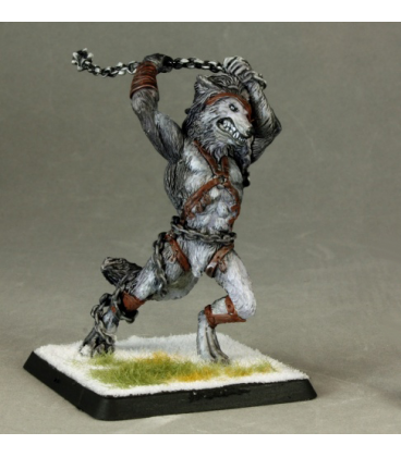 Warlord: Korborlas - Hania Ghostmane Warrior (painted by Shannon Stiltz)