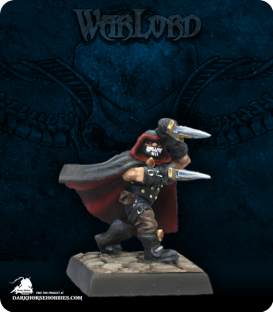 Warlord: Kragmarr - G'rond, Dwarven Assassin (painted by Martin Jones)