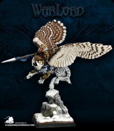 Warlord: Kragmarr - Hrolfgad Loftsaddle, Dwarf Griffon Rider (painted by Martin Jones)