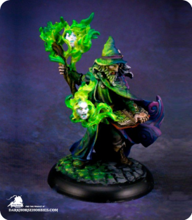 Reaper Silver Anniversary - Domur, High Mage (painted by Michael Proctor)