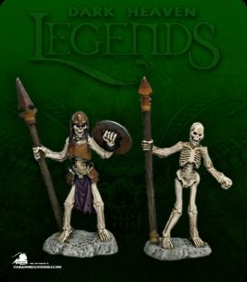 Dark Heaven Legends: Skelton Spearmen Pack (painted by Katie Sommer)