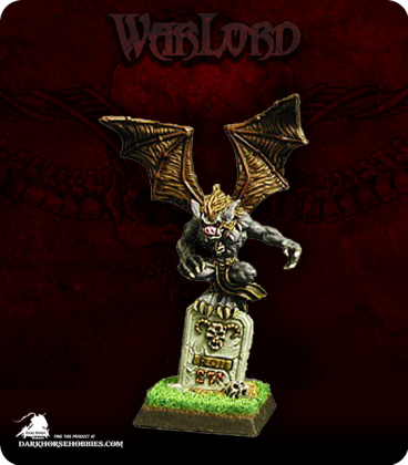 Warlord: Necropolis - Crypt Bat Adept (painted by Jason Glocka)